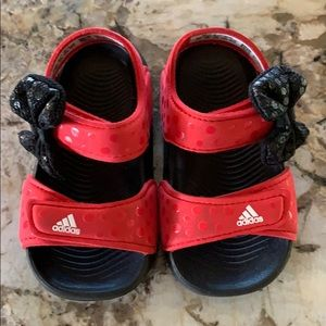 Adidas Toddler Girl Minnie Mouse Sandals